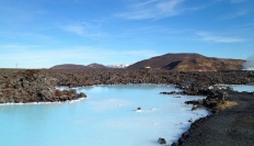 Saw the Blue Lagoon in Iceland