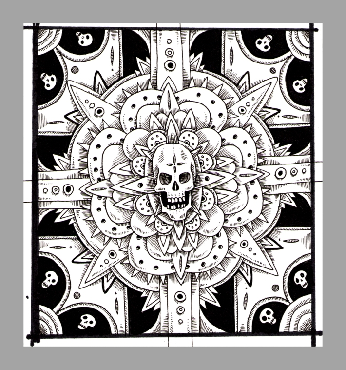 Skull_Ornament_sketch