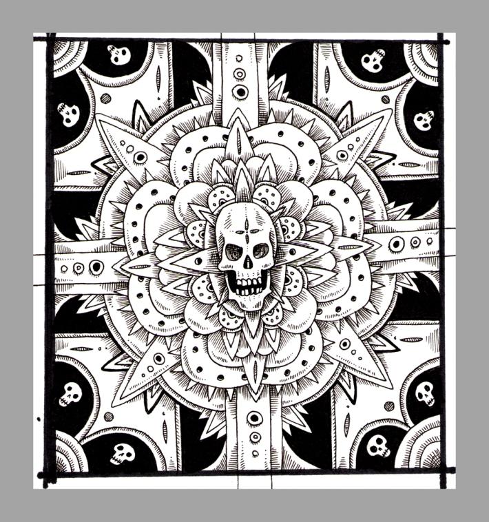 Skull_Ornament_sketch