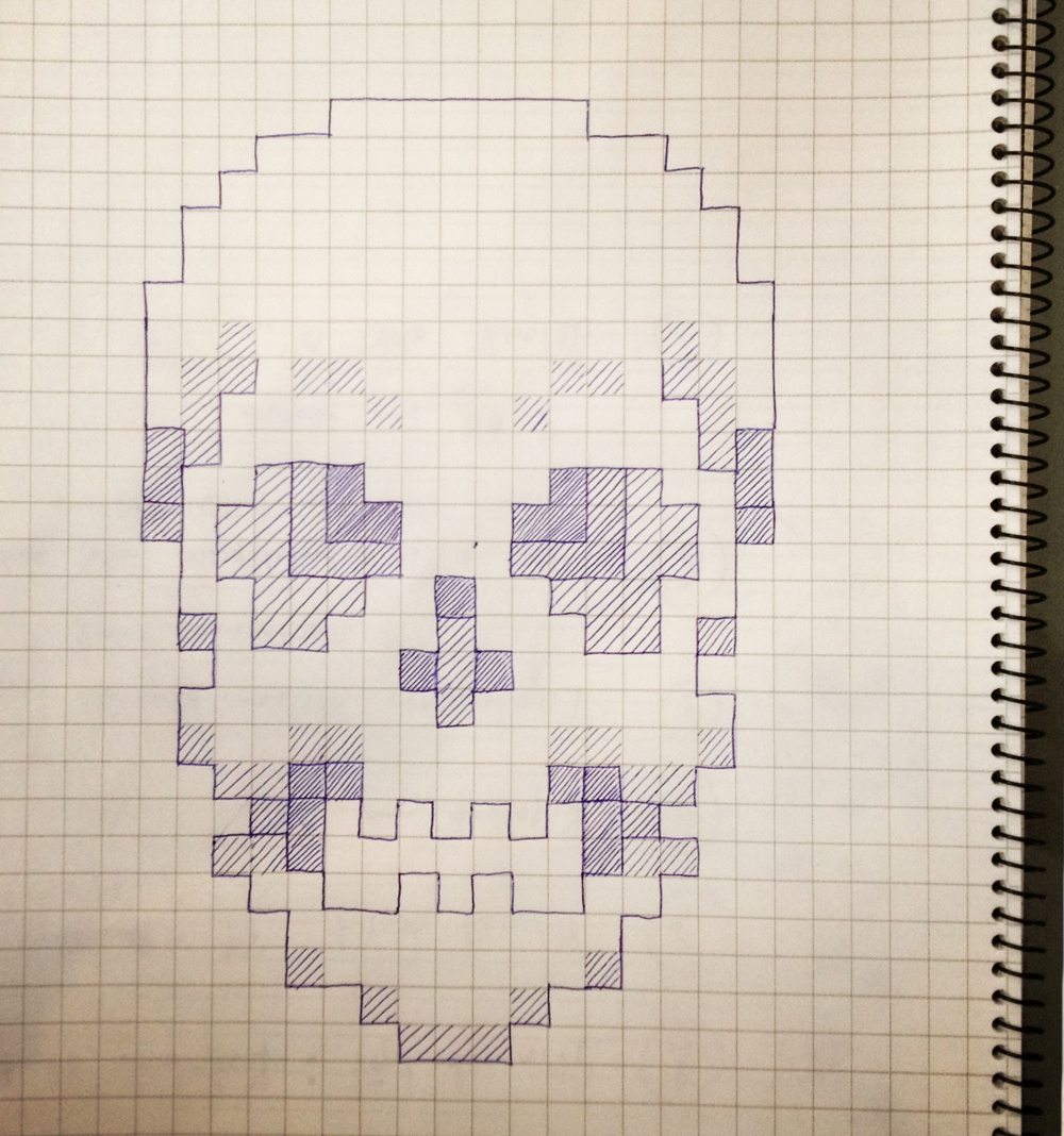 Drawing Using Grid Lines : Grid paper drawings images reverse search