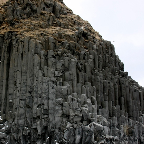 Saw these rock formations in Iceland