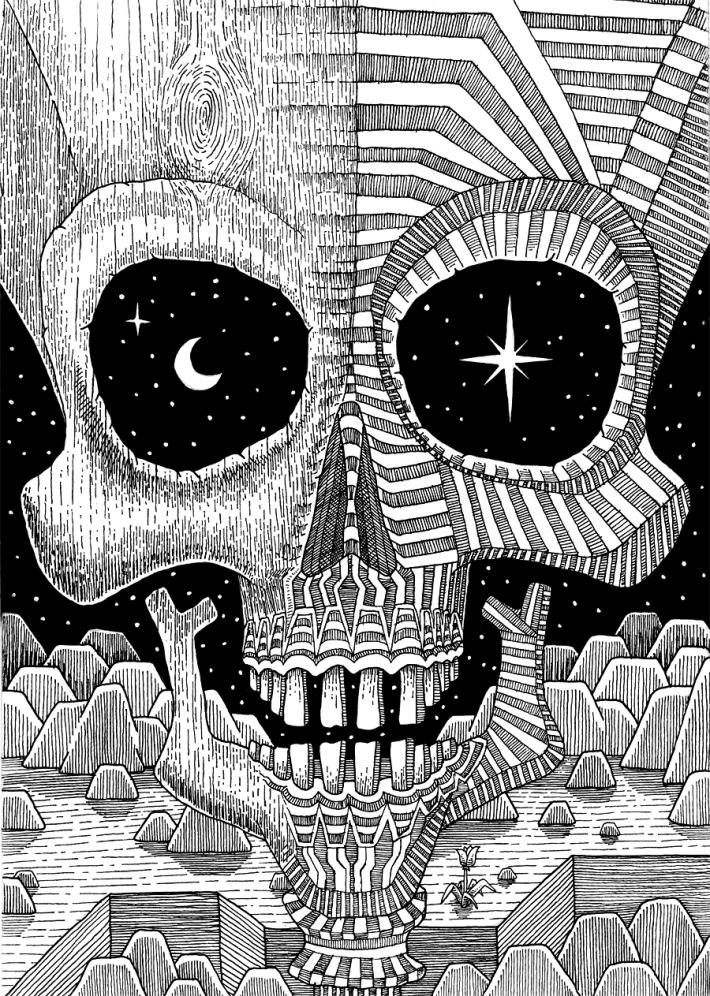 Astro_Skull