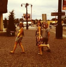 Met friends in Bratislava, Slovakia