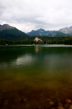 Eagerly photographed the Tatra Mountains. :)