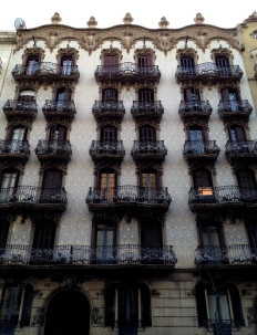 House in the L'Eixample area