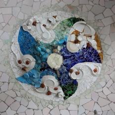 Parc Güell / ceiling detail