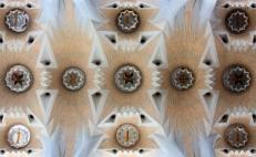 Sagrada Familia / ceiling detail