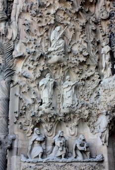 Sagrada Familia / facade