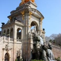 Parc Ciutadella / fountain