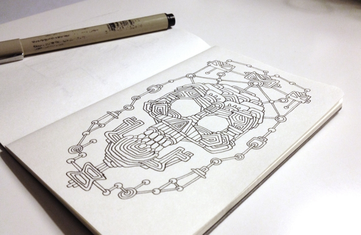 Aztec_Skull_photo