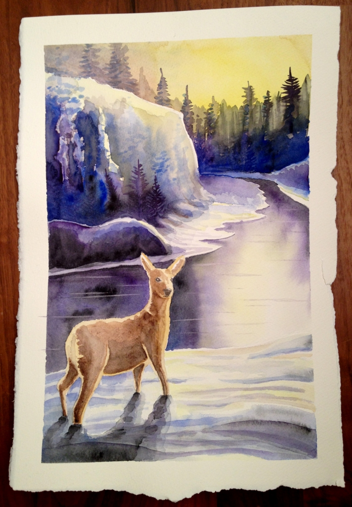 deer_and_river