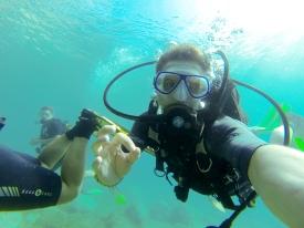 Went diving in Parga, Greece.