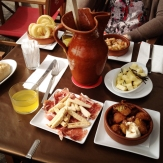 Tapas and Sangria in Barcelona
