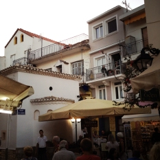 Early evening in Parga.