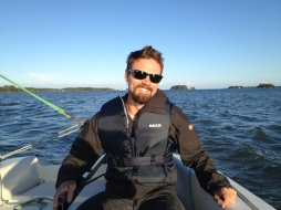 Went sailing. :)