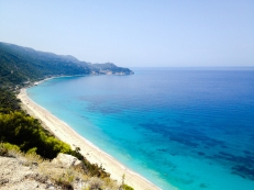 Stopped here for some photos during a tour around Lefkada.
