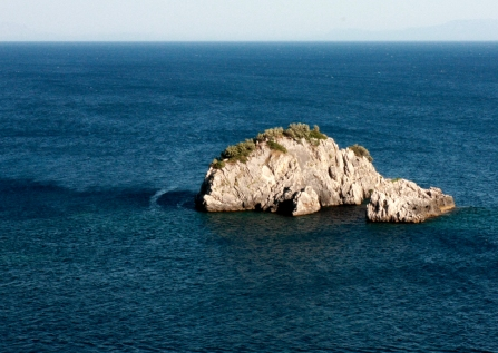 Went diving near these cliffs.