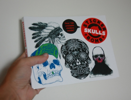 Got my hands on the long-waited Stickerbomb book.