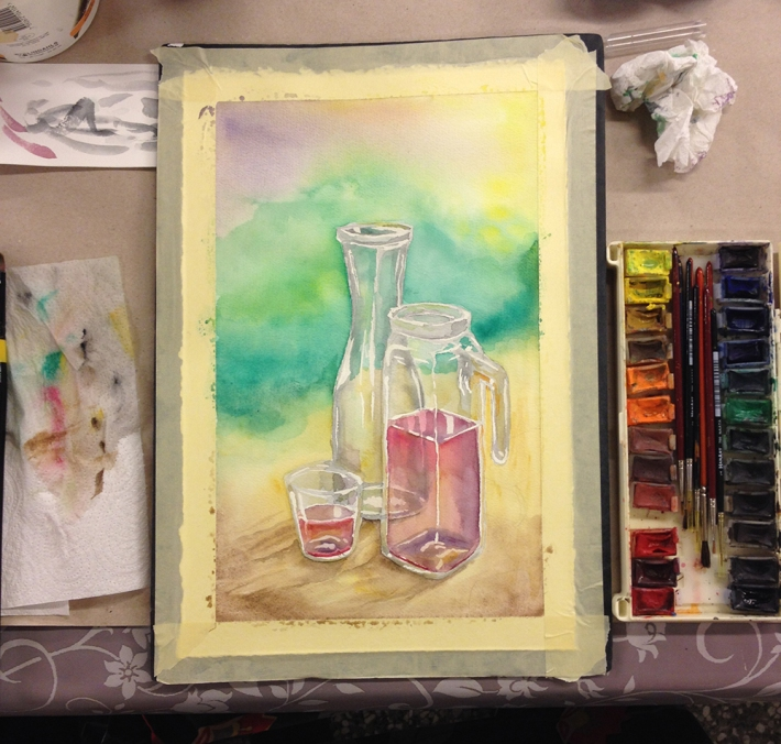 watercolour_jars_and_glass1