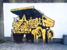 Street art near Bondi Beach