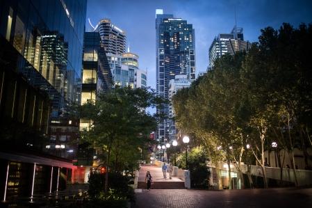 Evening at Darling Quarters, Sydney