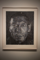 Painting by Chuck Close